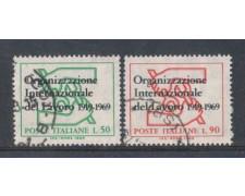 1969 - LOTTO/6519U - REPUBBLICA - ORGANIZ. LAVORO USATI