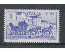1969 - LOTTO/6521 - REPUBBLICA - GIORNATA FRANCOBOLLO