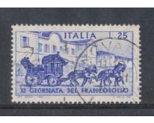 1969 - LOTTO/6521U - REPUBBLICA - G.FRANCOBOLLO USATO