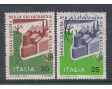 1970 - LOTTO/6535U - REPUBBLICA - SALVAG. NATURA USATI