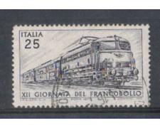 1970 - LOTTO/6536U - REPUBBLICA - GIORNATA FRANCOBOLLO USATO