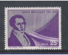 1970 - LOTTO/6539 - REPUBBLICA - S.MERCADANTE