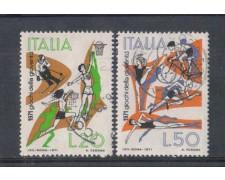 1971 - LOTTO/6546U - REPUBBLICA - GIOCHI GIOVENTU' USATI