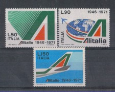 1971 - LOTTO/6547 - REPUBBLICA - 25° ALITALIA