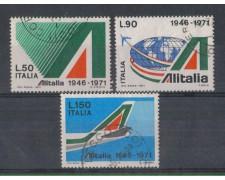 1971 - LOTTO/6547U - REPUBBLICA - 25° ALITALIA USATI
