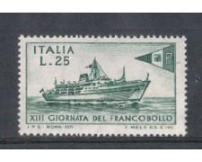 1971 - LOTTO/6552 - REPUBBLICA -  GIORNATA FRANCOBOLLO