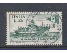 1971 - LOTTO/6552U - REPUBBLICA - G. FRANCOBOLLO USATO