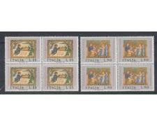 1971 - LOTTO/6553Q - REPUBBLICA - NATALE QUARTINE