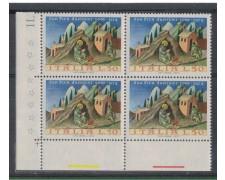 1972 - LOTTO/6562Q - REPUBBLICA - S.PIER DAMIANI QUARTINA