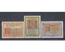 1972 - LOTTO/6564 - REPUBBLICA - DIVINA COMMEDIA