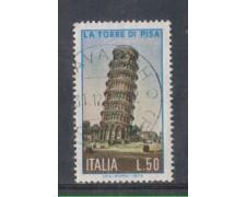 1973 - LOTTO/6587U - REPUBBLICA - TORRE DI PISA  USATO