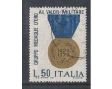 1973 - LOTTO/6593U - REPUBBLICA - MEDAGLIE AL VALORE  USATO