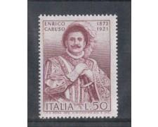 1973 - LOTTO/6594 - REPUBBLICA - ENRICO CARUSO