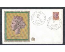 1974 - LOTTO/6595Z - REPUBBLICA - 125 L. SIRACUSANA - FDC