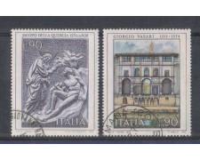 1974 - LOTTO/6618U - REPUBBLICA - ARTE ITALIANA I° - USATI