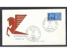 1974 - LOTTO/6619Z - REPUBBLICA - 250 L. ESPRESSO - FDC