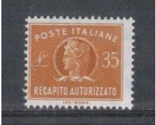 1974 - LOTTO/6620 - REPUBBLICA - 35 L. RECAPITO AUTORIZZATO