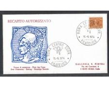 1974 - LOTTO/6620Z - REPUBBLICA - 35 L. RECAPITO AUT. - FDC