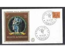 1974 - LOTTO/6620ZA - REPUBBLICA - 35 L. RECAPITO AUT. - FDC