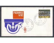 1975 - LOTTO/6632Z - REPUBBLICA - CONGRESSO FERROVIE - FDC