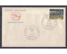 1975 - LOTTO/6632ZC - REPUBBLICA - CONGRESSO FERROVIE - FDC