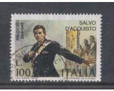 1975 - LOTTO/6633U - REPUBBLICA - SALVO D'ACQUISTO - USATO