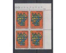 1975 - LOTTO/6634Q - REPUBBLICA - ARCHIVI DI STATO - QUARTINA