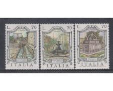 1975 - LOTTO/6635 - REPUBBLICA - FONTANE 3° SERIE