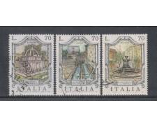 1975 - LOTTO/6635U - REPUBBLICA - FONTANE 3° SERIE USATI