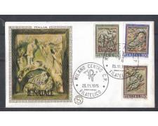 1975 - LOTTO/6637Z - REPUBBLICA  - NATALE - FDC