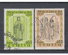 1975 - LOTTO/6639U - REPUBBLICA - GIOVANNI BOCCACCIO - USATI