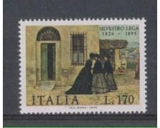 1976 - LOTTO/6653 - REPUBBLICA - SILVESTRO LEGA