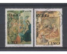 1976 - LOTTO/6654U - REPUBBLICA - NATALE - USATI
