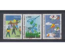 1977 - LOTTO/6667U - REPUBBLICA - GIORNATA FRANCOBOLLO - USATI