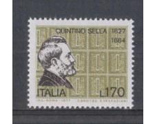 1977 - LOTTO/6669 - REPUBBLICA - QUINTINO SELLA