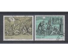 1977 - LOTTO/6672U - REPUBBLICA - NATALE - USATI