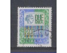 1978 - LOTTO/6690U - REPUBBLICA - 2000 L. ALTO VALORE - USATO