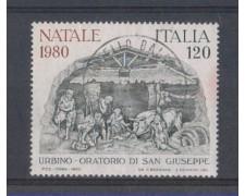 1980 - LOTTO/6731U - REPUBBLICA - NATALE - USATO
