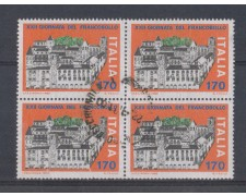 1980 - LOTTO/6732UQC - 170 L. GIORNATA FRANCOBOLLO - QUART/U