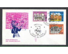 1980 - LOTTO/6732Z - REPUBBLICA - GIORNATA FRANCOBOLLO - FDC