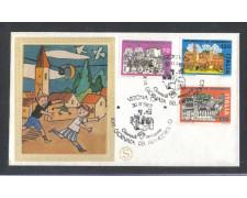 1980 - LOTTO/6732ZB - REPUBBLICA - GIORNATA FRANCOBOLLO - FDC
