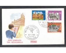 1980 - LOTTO/6732ZD - REPUBBLICA - GIORNATA FRANCOBOLLO - FDC