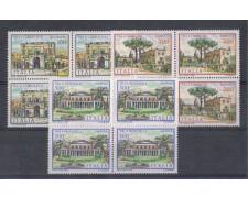 1981 - LOTTO/6753Q - REPUBBLICA - VILLE 2° SERIE - QUARTINE