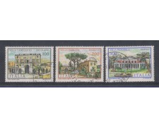 1981 - LOTTO/6753U - REPUBBLICA - VILLE 2° SERIE - USATI