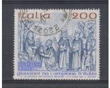 1981 - LOTTO/6754U - REPUBBLICA - NATALE - USATO