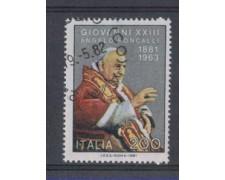 1981 - LOTTO/6755U - REPUBBLICA - PAPA GIOVANNI - USATO