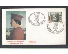 1982 - LOTTO/6770ZA - REPUBBLICA - FEDERICO DA MONTEFELTRO - FDC