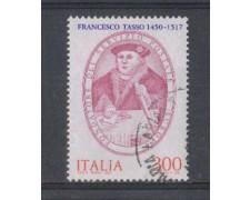 1982 - LOTTO/6774U - REPUBBLICA - FRANCESCO TASSO - USATO