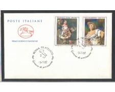 1982 - LOTTO/6775ZC - REPUBBLICA - ARTE 9° SERIE - FDC