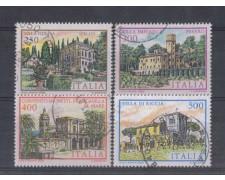 1983 - LOTTO/6799U - REPUBBLICA - VILLE 4° SERIE - USATI